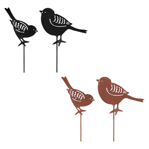 Set of 2 Small Bird Silhouettes