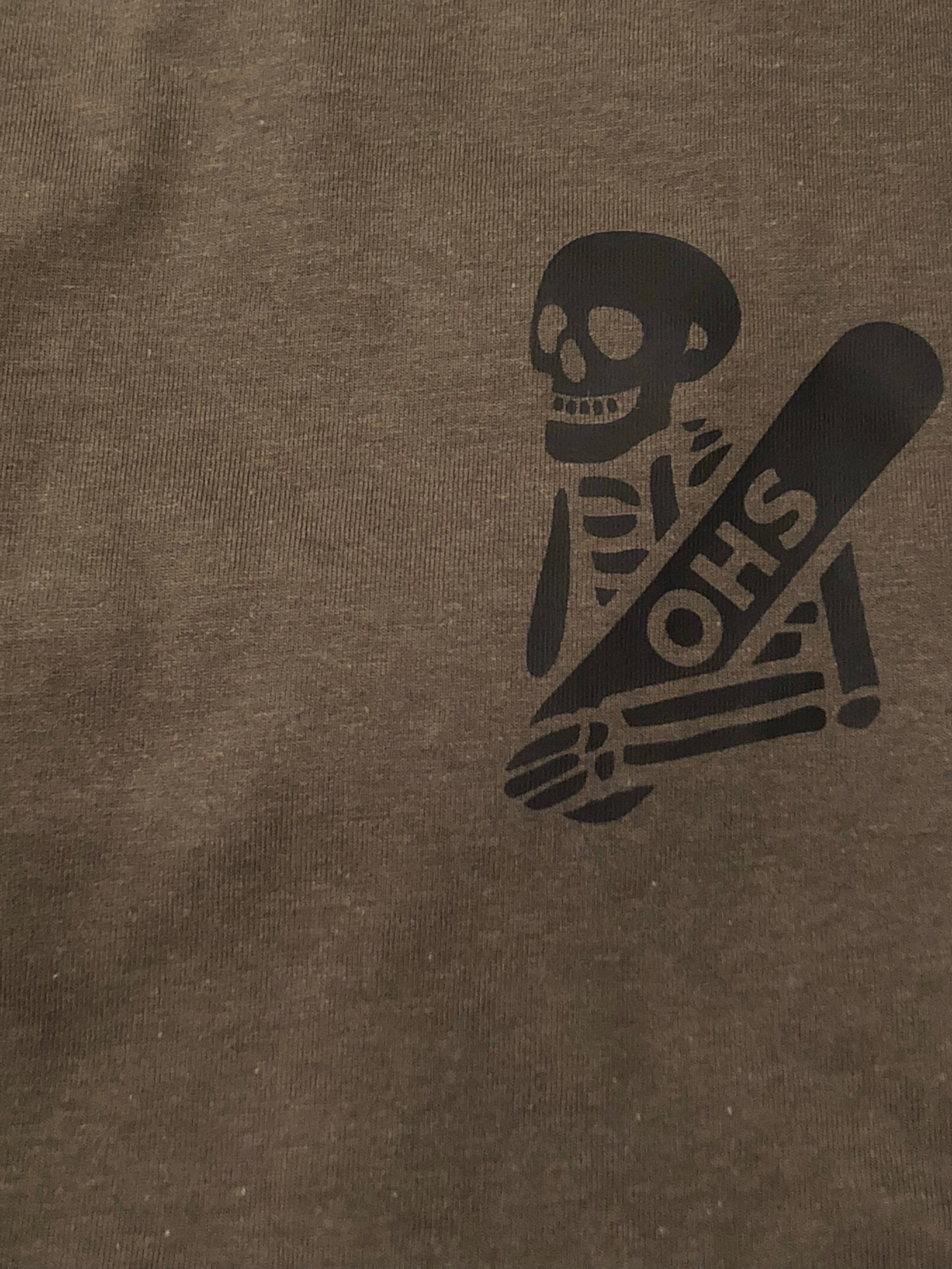 Khaki Skully T-Shirt