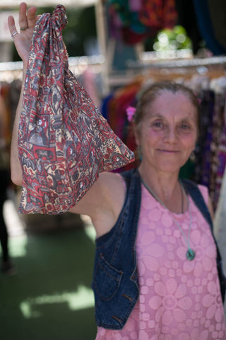 Recycled Silk Bags for Life Environmentally friendly