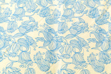 Blue Floral Organic Cotton Duvet Set - King Size - Avalonia, Avalonia - Avalonia
