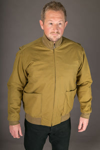 1940s Style Bomber Jacket American US WW2 Tanker Jacket First Pattern