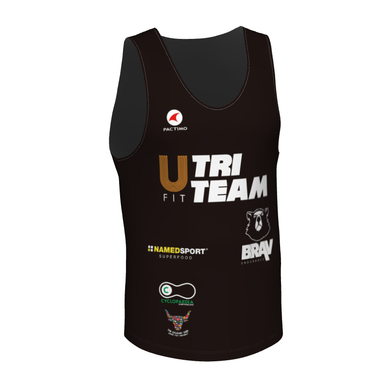 UFit Tri Men's Run Singlet - UFit Gym Cardiff