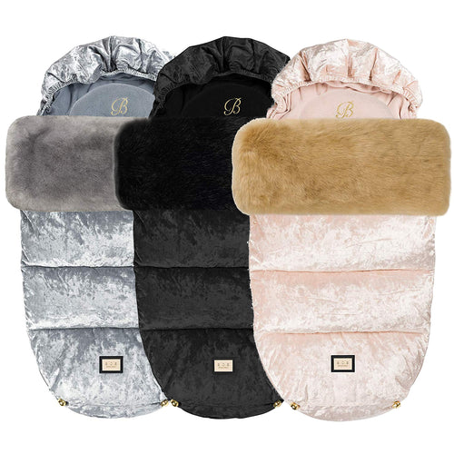 B.O.S Crushed Velvet Footmuff