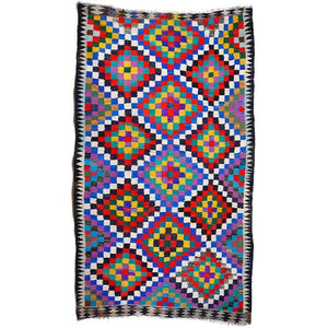 intage Rug turkish Kilim 10.2 x 6 ft / 321 x 180 cm boho carpet 10 x 6 ft