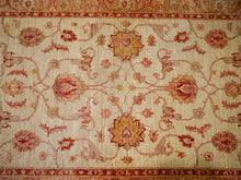 Farahan Ziegler rug 6 x 4 ft / 183 x 123 cm vintage Bohemian Rug, Boho Style, carpet persian style sultanabad beige
