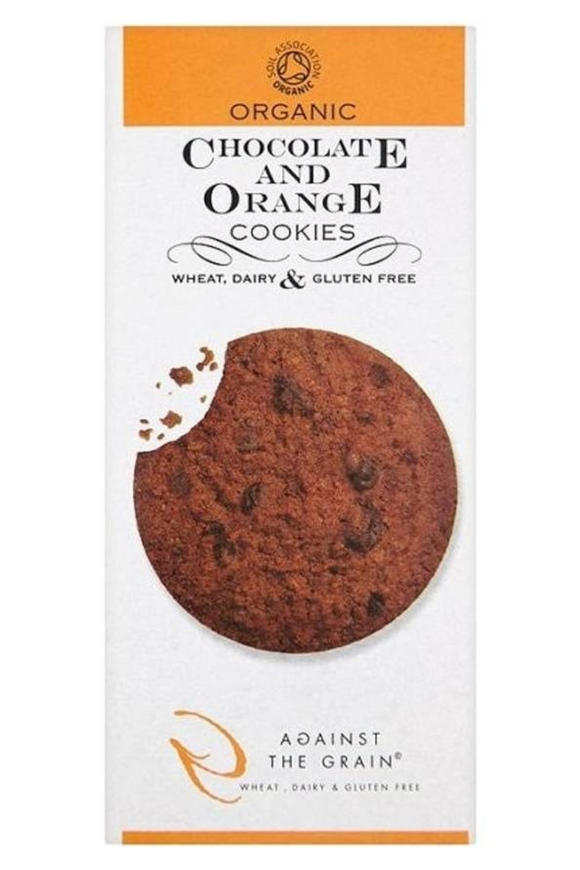 AGAINST THE GRAIN Chocolate and Orange Cookies (150g)