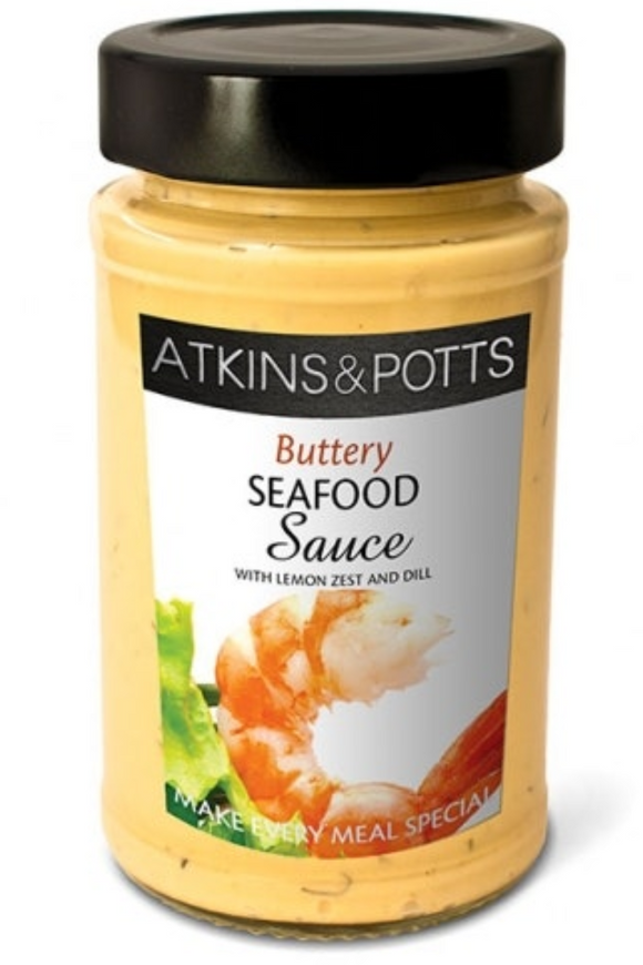 ATKINS & POTTS Zesty Seafood Sauce (205g)
