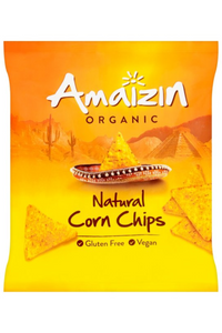 AMAIZIN Organic Natural Corn Chips (75g)
