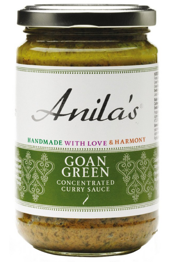 ANILA'S Goan Green Curry Sauce (300g)
