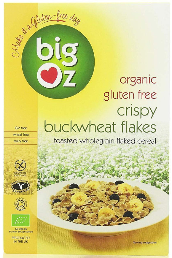 BIG OZ Gluten Free Crispy Buckwheat Flakes (350g)