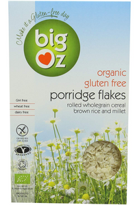 BIG OZ Gluten Free Porridge Flakes (500g)