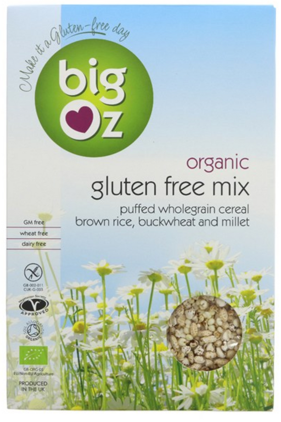 BIG OZ Gluten Free Puffs Mix Cereal (225g)