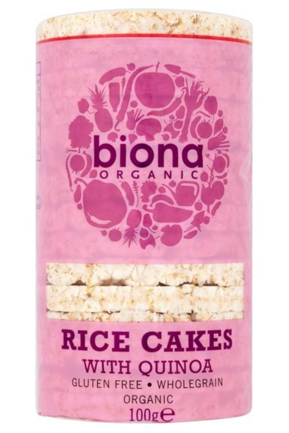 BIONA Organic Rice Cakes with Quinoa (100g)