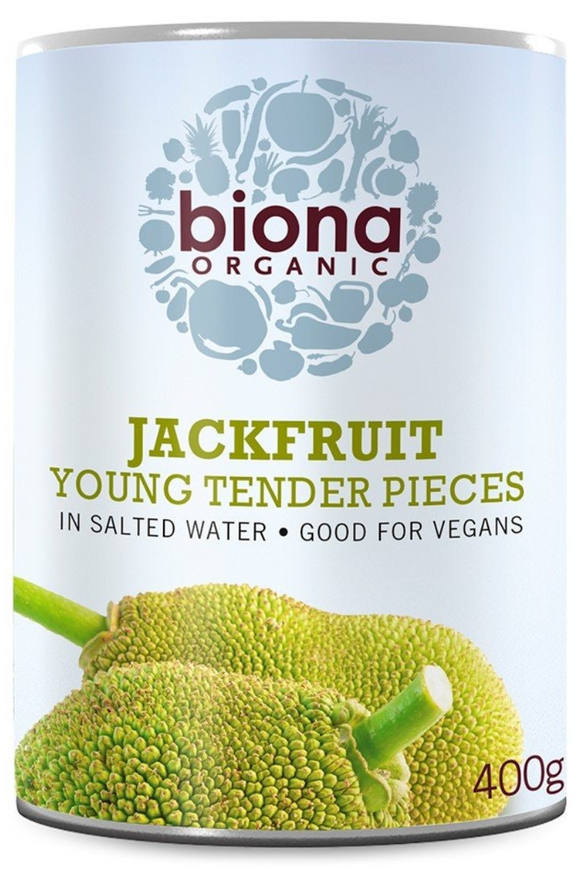 BIONA Organic Jackfruit in salted water (400g)