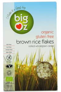 BIG OZ Gluten Free Brown Rice Flakes (500g)