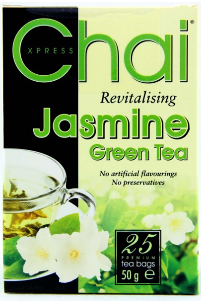CHAI XPRESS Revitalising Jasmine Green Tea (25 per pack)