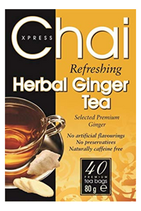 CHAI XPRESS Refreshing Herbal Ginger Tea