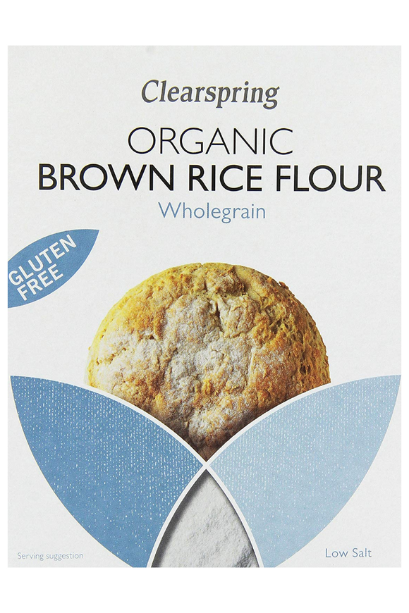 CLEARSPRING Organic Brown Rice Flour (375g)