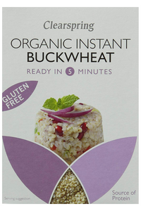 CLEARSPRING Organic Instant Buckwheat (140g)