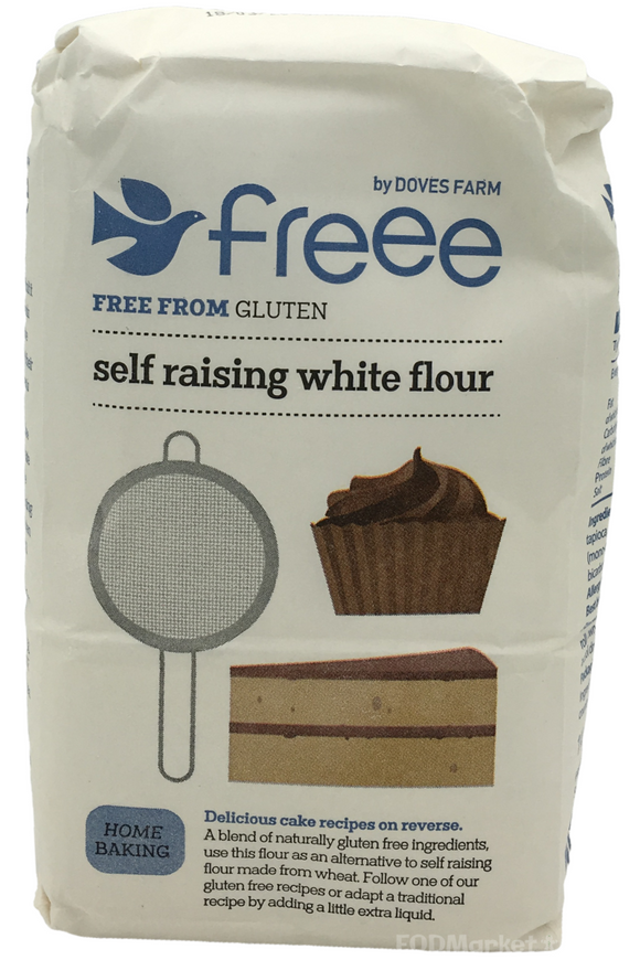 DOVES Gluten Free Self Raising White Flour (1kg)