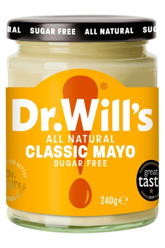 DR. WILL'S Classic Mayo (240g)