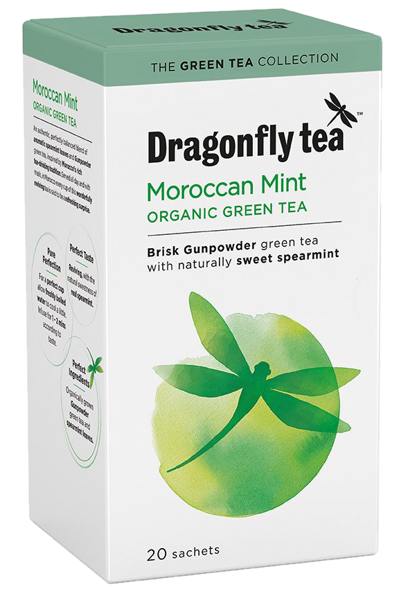 Dragonfly Moroccan Mint Organic Green Tea