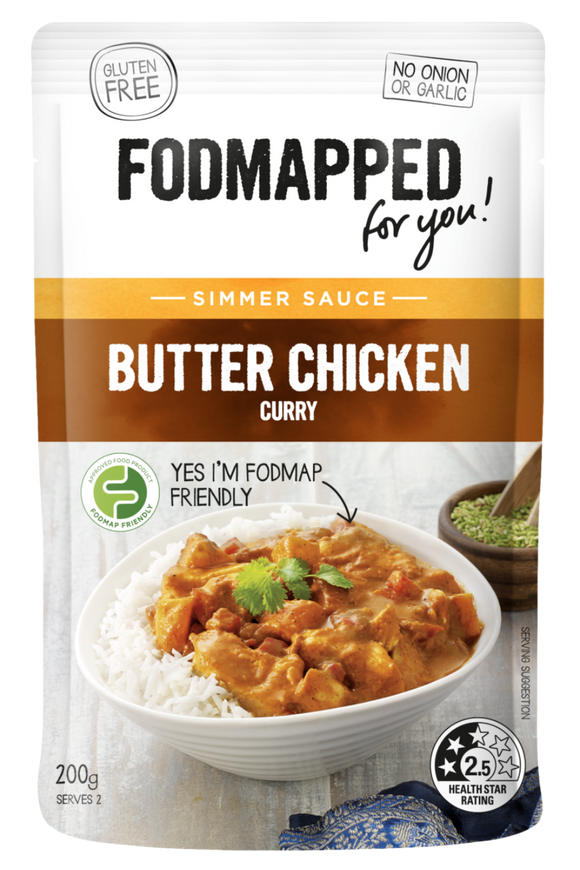 FODMAPPED for You! Butter Chicken Curry Sauce