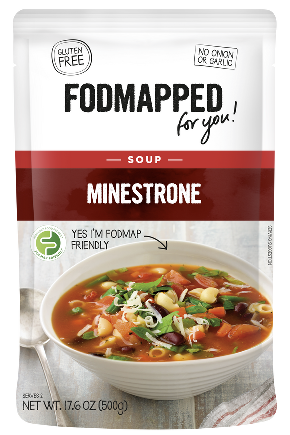 FODMAPPED for You! Minestrone Soup
