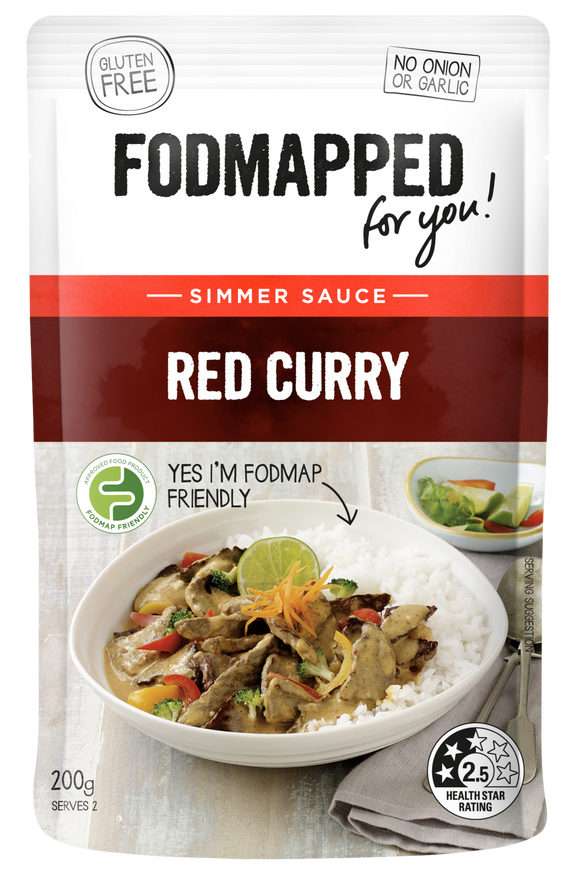 FODMAPPED for You! Red Curry Sauce