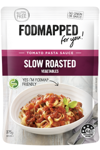 FODMAPPED for You! Slow Roasted Vegetables Pasta Sauce