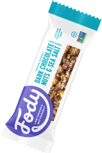 FODY Dark Chocolate, Nuts & Sea Salt Bar (40g)
