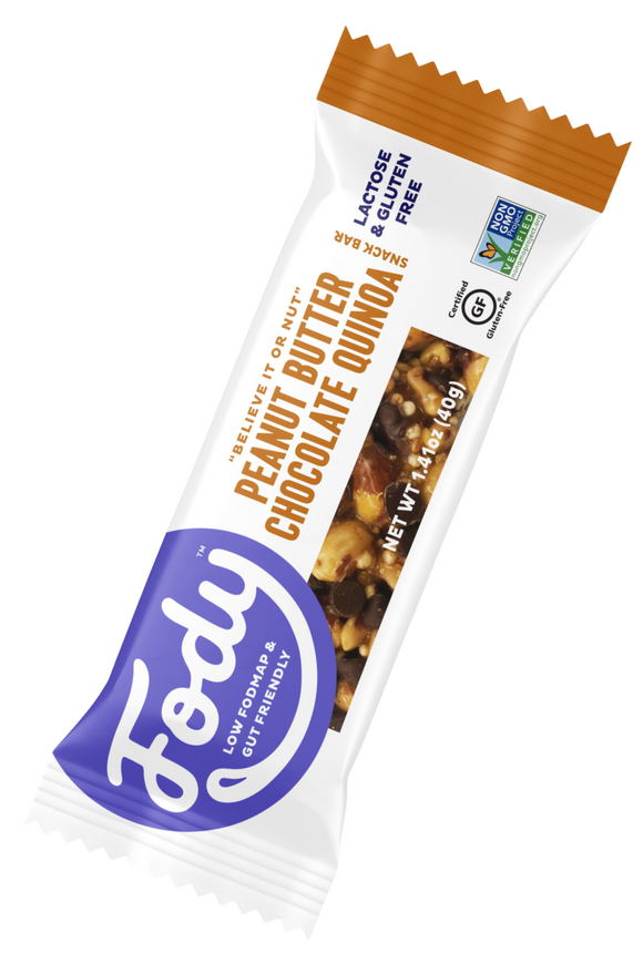 FODY Peanut Butter Chocolate Quinoa Bar (40g)