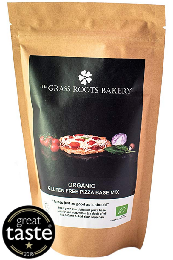 GRASS ROOTS BAKERY Organic Gluten Free Pizza Base Mix (280g)