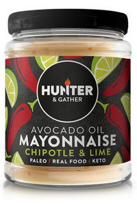 HUNTER & GATHER Avocado Oil Chilli & Lime Mayonnaise (175g)