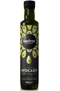 HUNTER & GATHER Cold Pressed Extra Virgin Avocado Oil  (250ml)