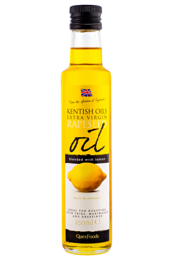 KENTISH OILS Cold Pressed Rapeseed Oil blended with Lemon