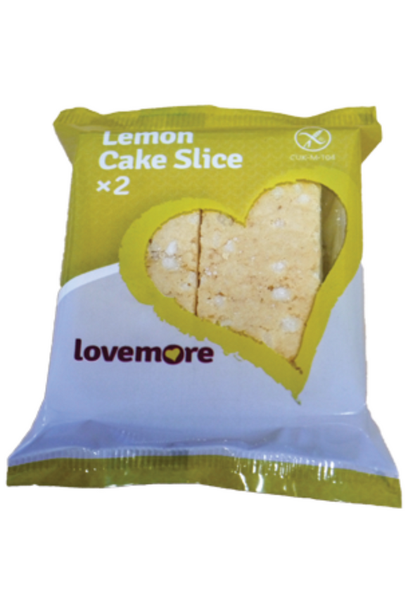 LOVEMORE Lemon Cake Slices (50g)