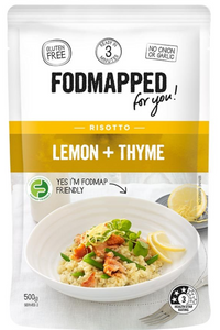 FODMAPPED Lemon + Thyme Risotto (500g)