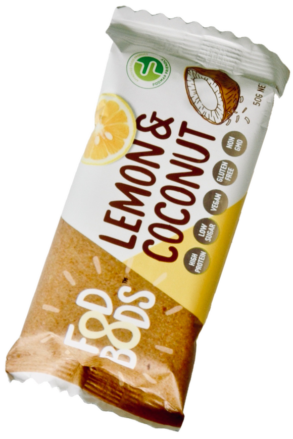 FODBODS Lemon & Coconut Protein Bar (50g)