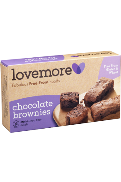 LOVEMORE Chocolate Brownies
