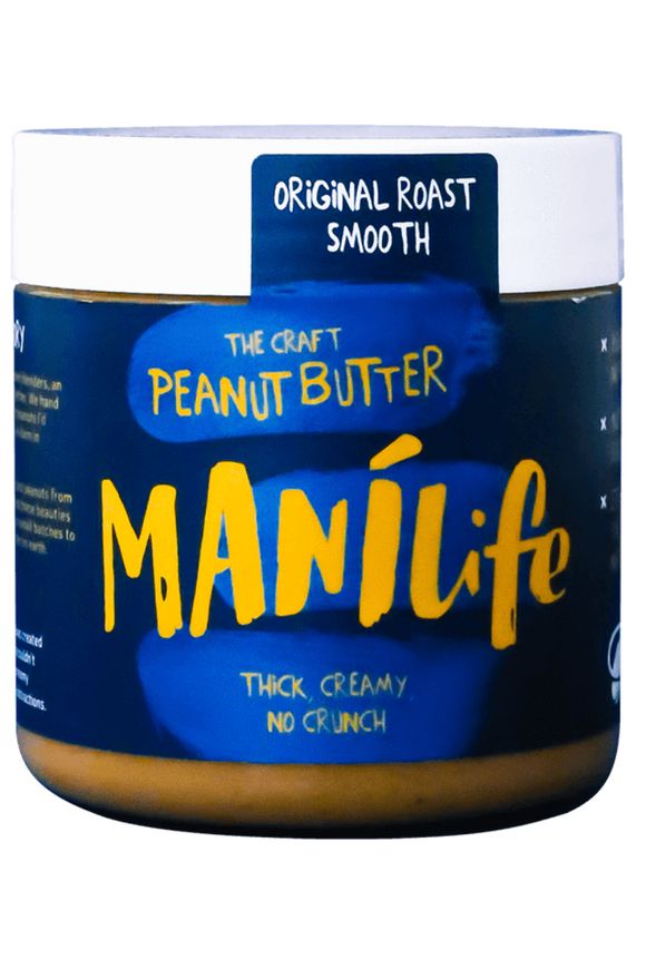 MANILIFE Original Roast Smooth Peanut Butter (295g)