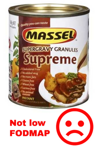 Low FODMAP Gravy