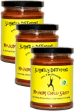 SLIGHTLY DIFFERENT Medium Chilli Sauce (265g) x3