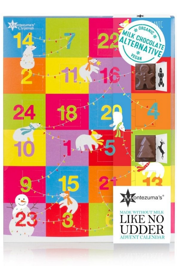 MONTEZUMA'S Like No Udder Organic Advent Calendar (144g)