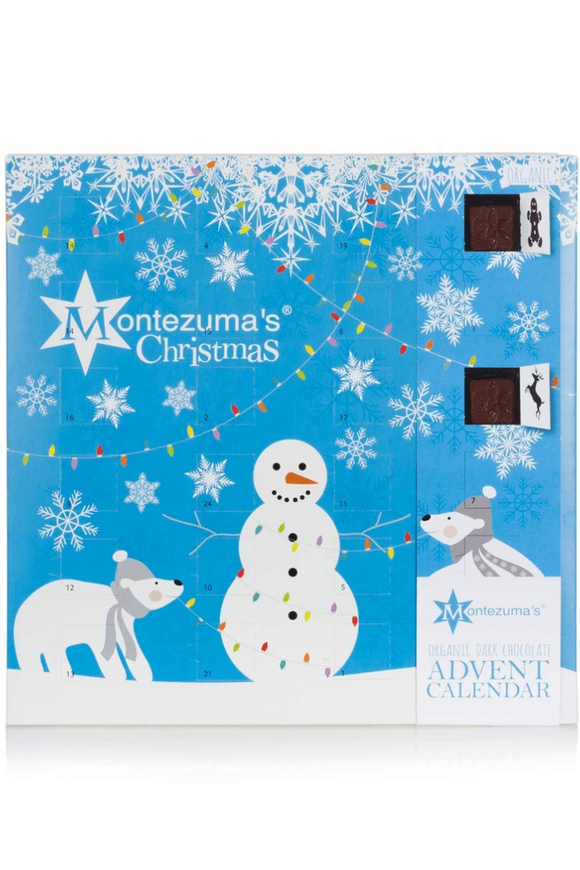 MONTEZUMA'S Organic Dark Chocolate Advent Calendar (240g)