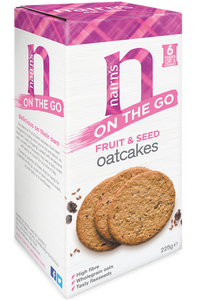 NAIRN'S On the Go Fruit & Seed Oatcakes (225g)