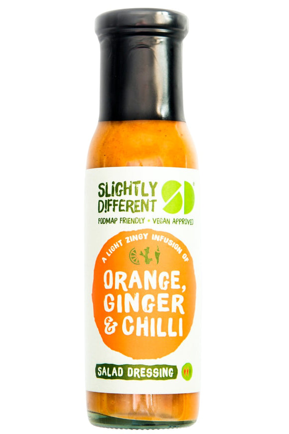 SLIGHTLY DIFFERENT Salad Dressing - Orange, Ginger & Chilli (240g)