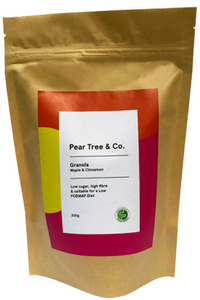 PEAR TREE & CO. Granola Maple & Cinnamon (300g)