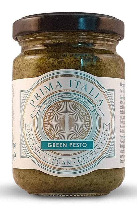 PRIMA ITALIA Organic Green Pesto (130g) - low fodmap