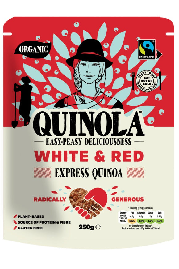 QUINOLA White & Red Express Quinoa (250g)
